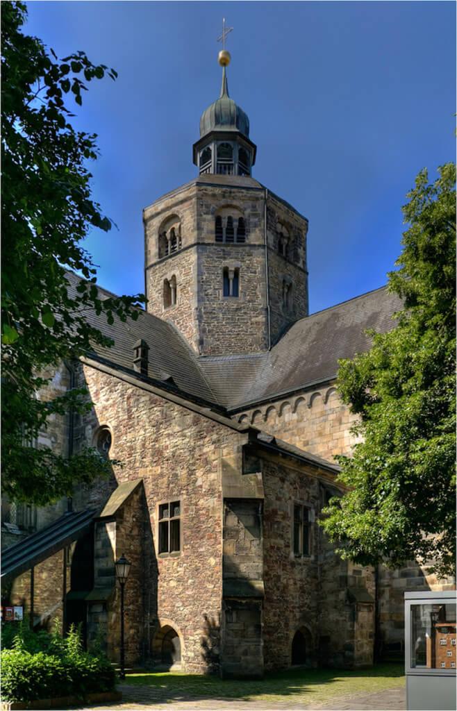 Münster St. Bonifatius in Hameln fotografieren