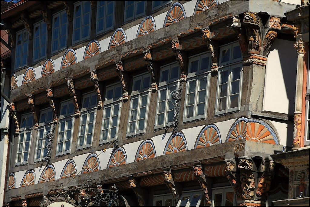 Das Stiftsherrenhaus in Hameln ist ein schönes Fotomotiv