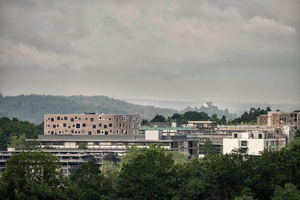 Universitätskliniken und Wurmlinger Kapelle fotografieren