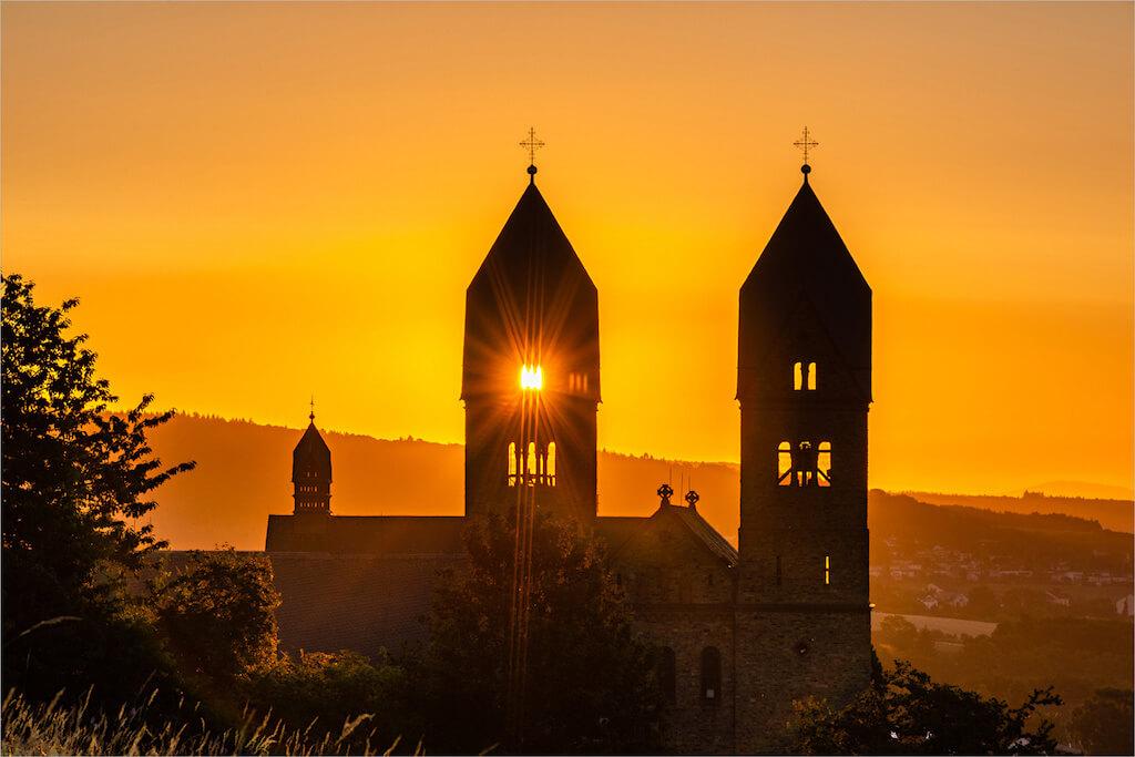 Sehenswürdigkeiten im Rheingau fotografieren: Abtei St. Hildegard
