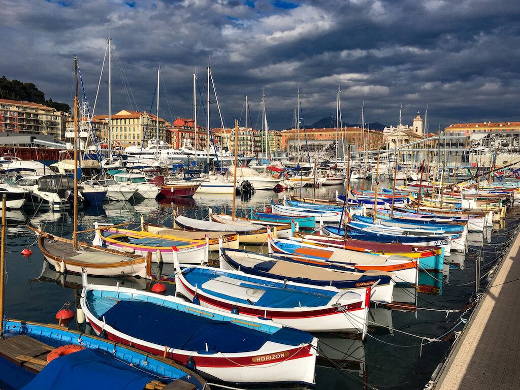 Der Hafen von Nizza: eine beliebte Fotolocation