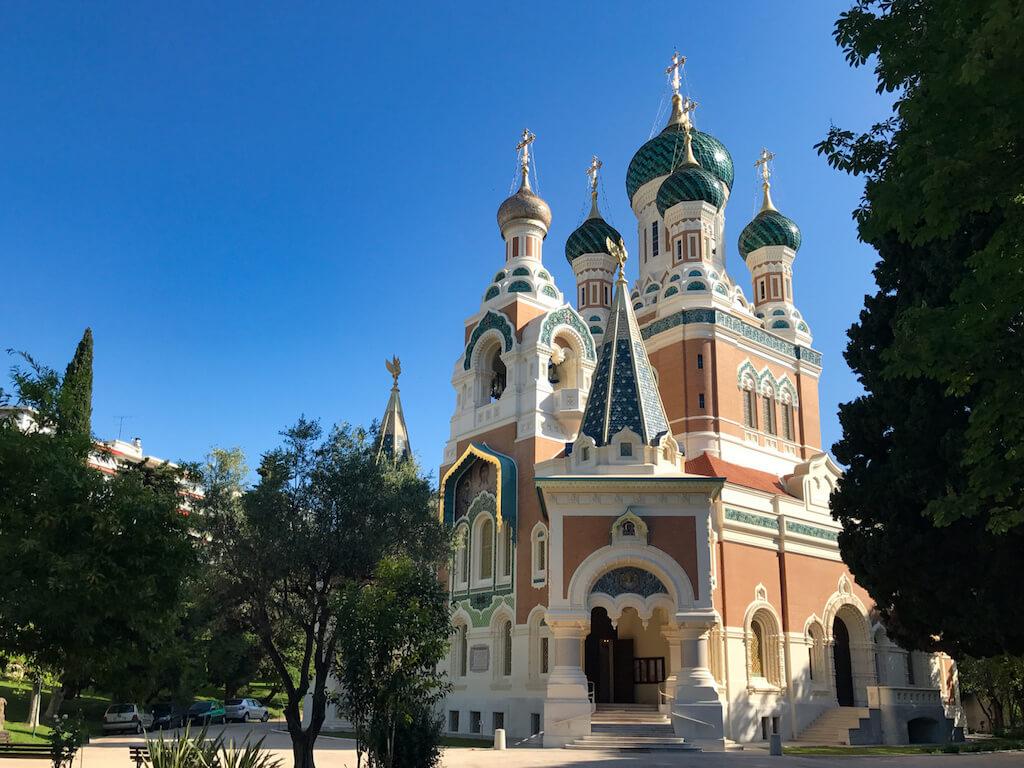 Fotografieren in Nizza: St Nicholas Kathedrale