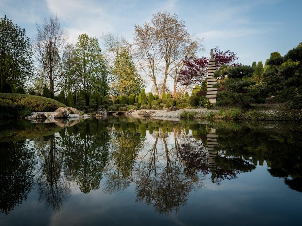 Japanischer Garten in der Rheinaue