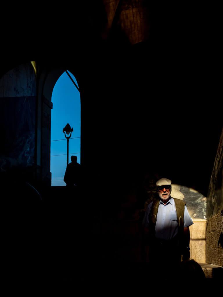 Lichtspiele in Nizza fotografieren