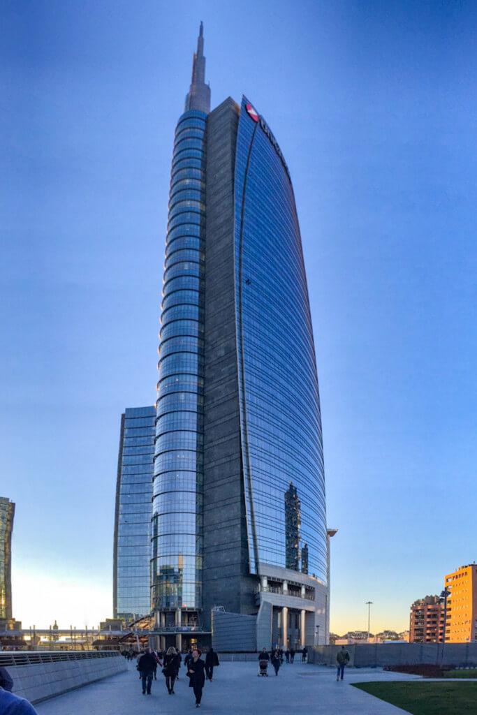 Wolkenkratzer in Mailand fotografieren