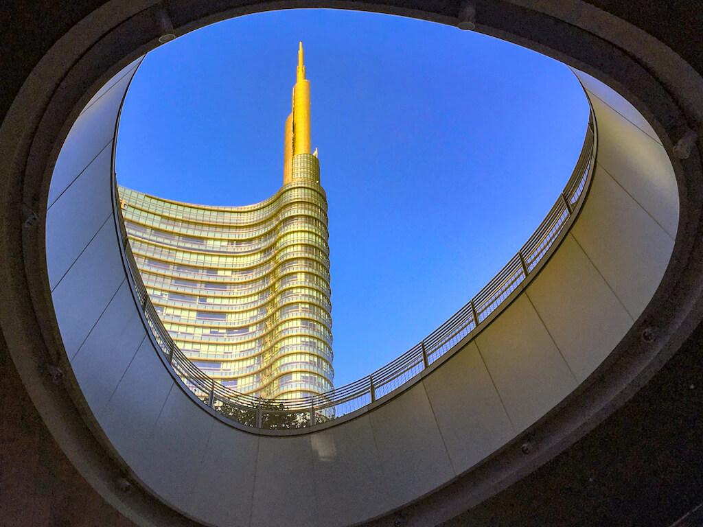 Das Torre Unicredit in Mailand fotografieren
