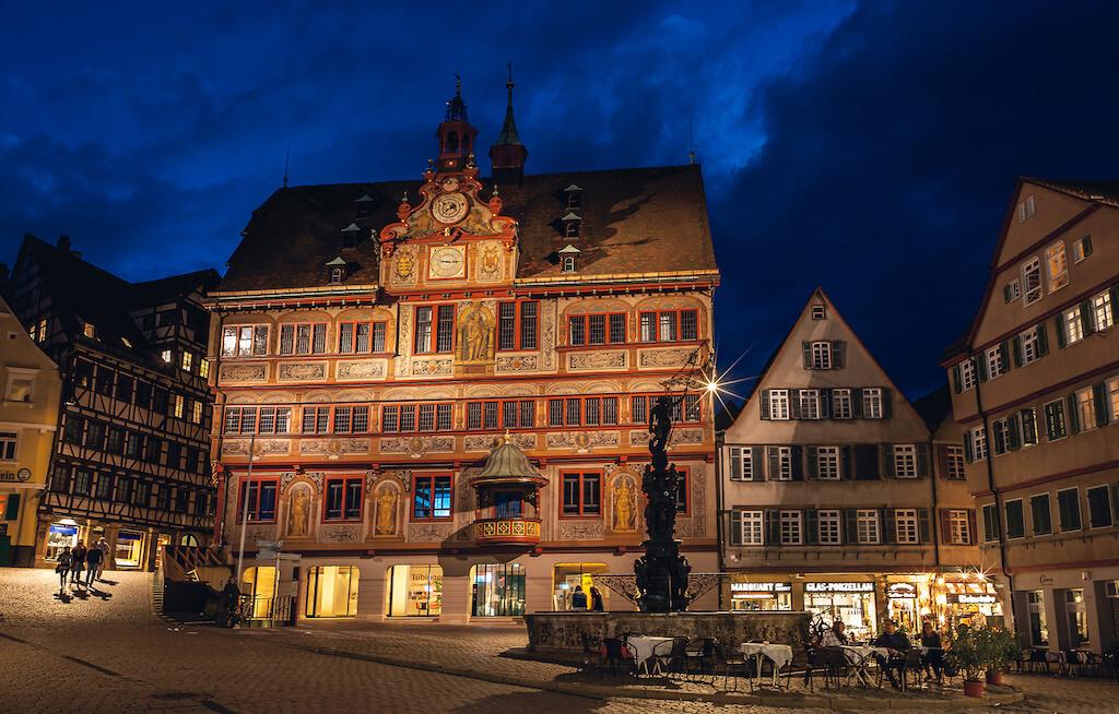 Tübinger Rathaus fotografieren