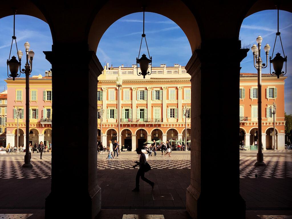 Place Massena: schöne Fotolocation in Nizza