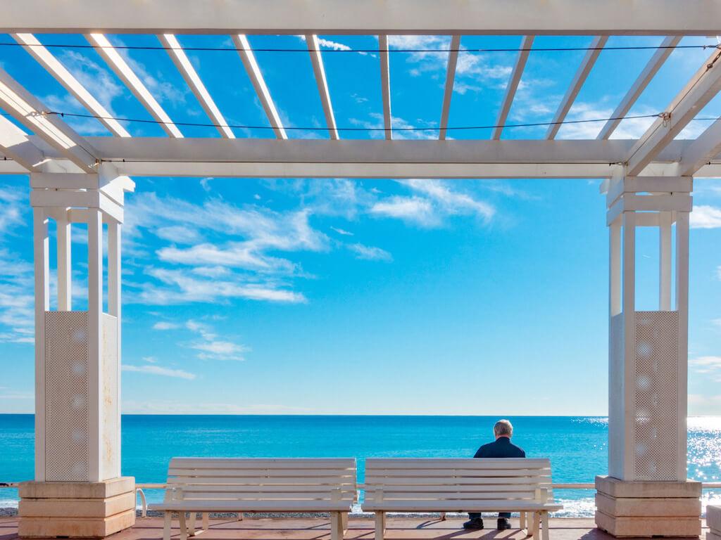 Promenade des Anglais in Nizza fotografieren