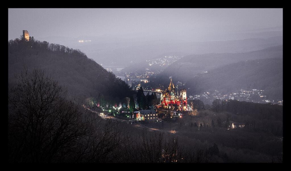 Schloss Drachenburg in Königswinter fotografieren