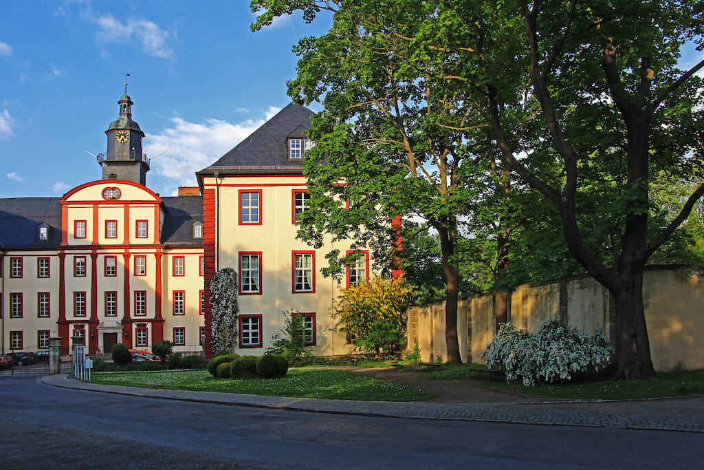 Residenzschloss in Saalfeld fotografieren
