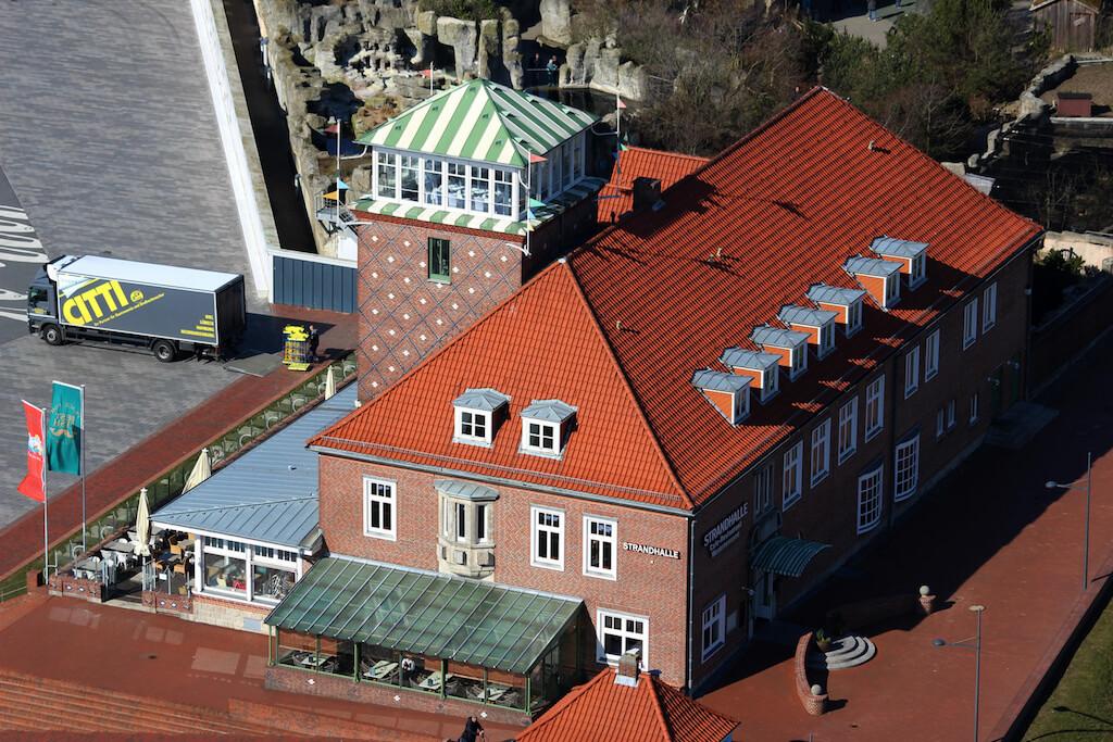 Die Strandhalle in Bremerhaven bietet eine tolle Fotolocation an