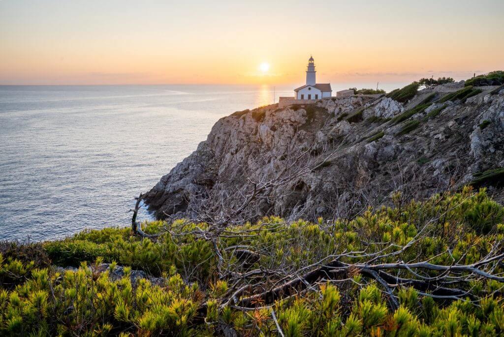 Far de Capdepera auf Mallorca fotografieren