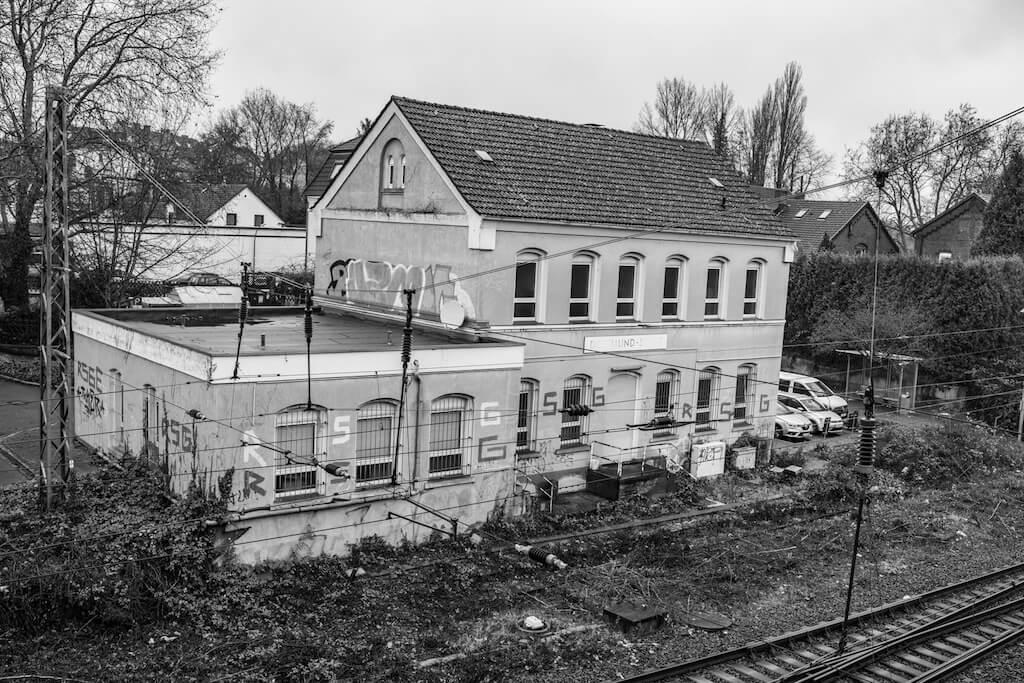 Bahnhof in Dortmund-Derne fotografieren