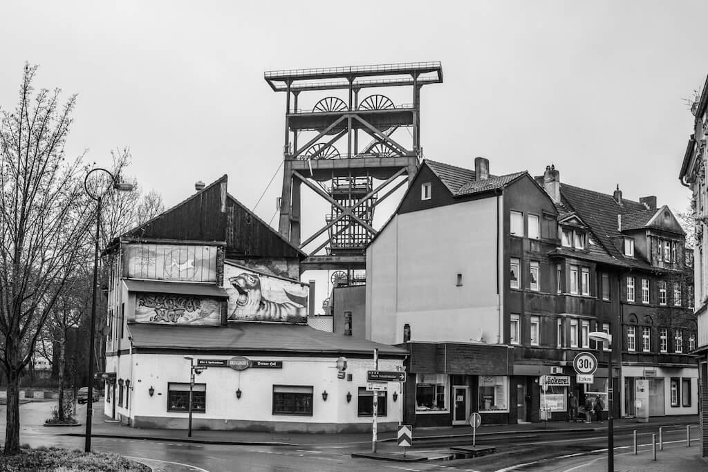 Sehenswürdigkeiten in Dortmund-Derne fotografieren