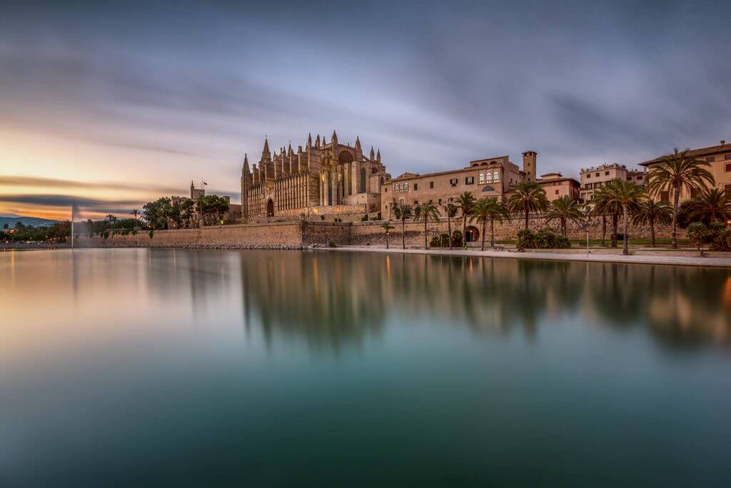 Kathedrale in Palma de Mallorca fotografieren