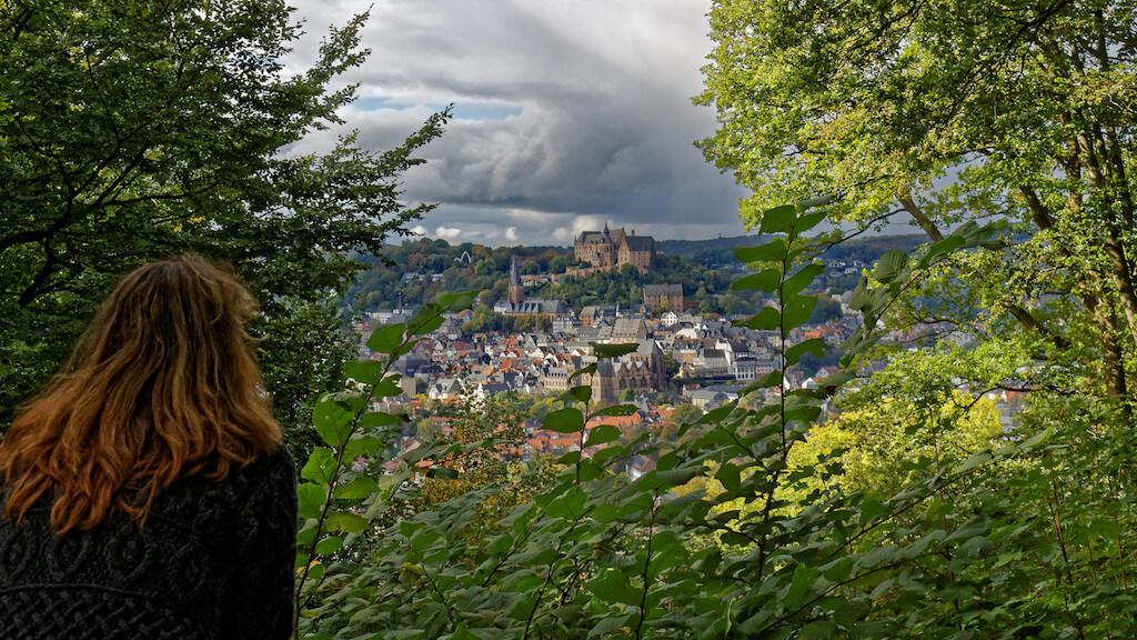 """Tolle Fotolocation in Marburg: Blick von der """"Alten Richtstätte"""""""