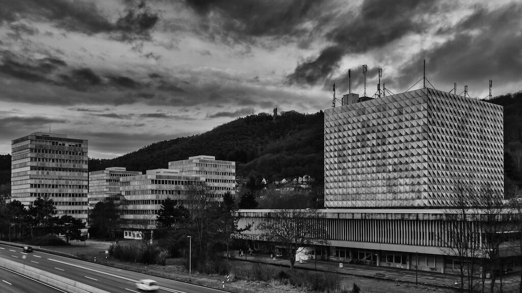 Die Universität in Marburg fotografieren