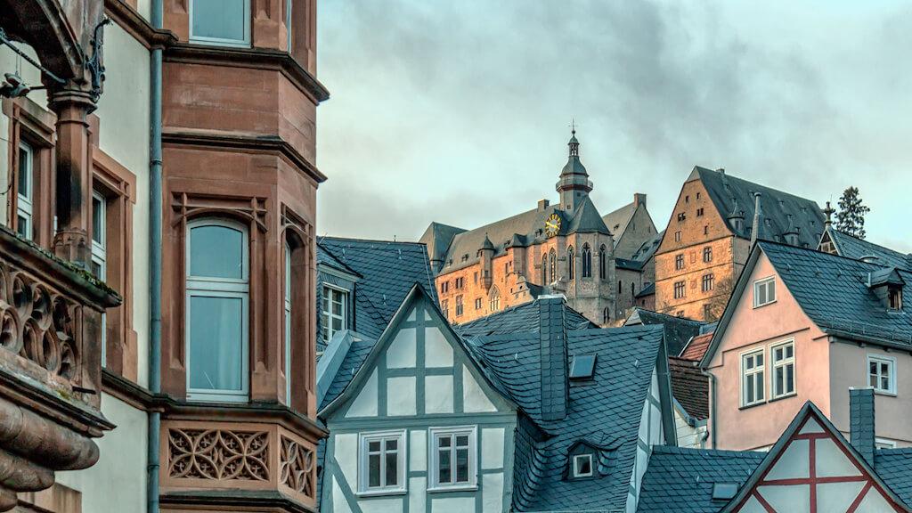 Marburg und dessen Architektur fotografieren