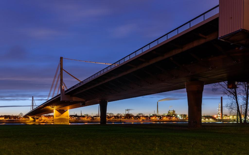 A40 Rheinbrücke Neuenkamp fotografieren