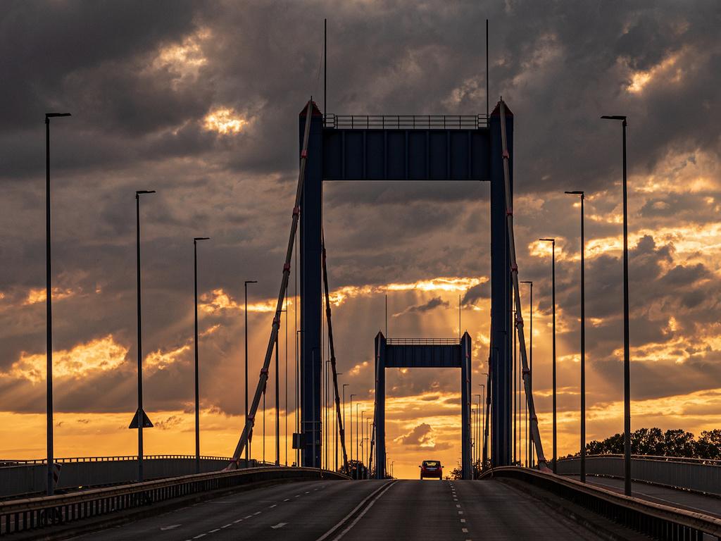 Duisburger Brücken fotografieren