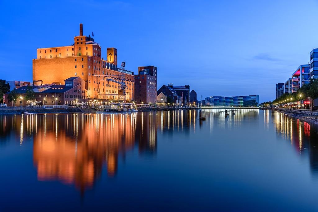 Hafen in Duisburg fotografieren