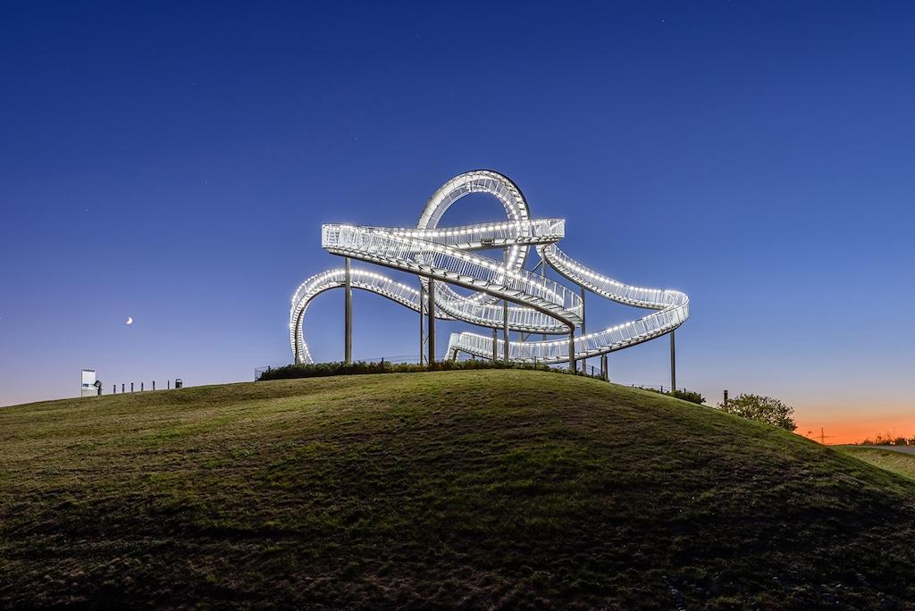 Sehenswürdigkeiten in Duisburg fotografieren: Magic Mountain
