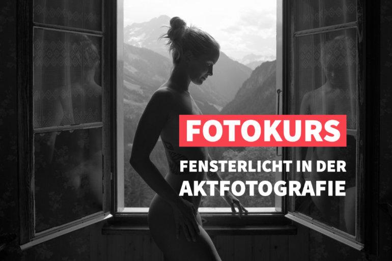 Online-Fotokurs: Fensterlicht in der Aktfotografie