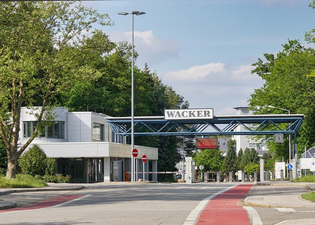 Chemiewerk in Burghausen fotografieren