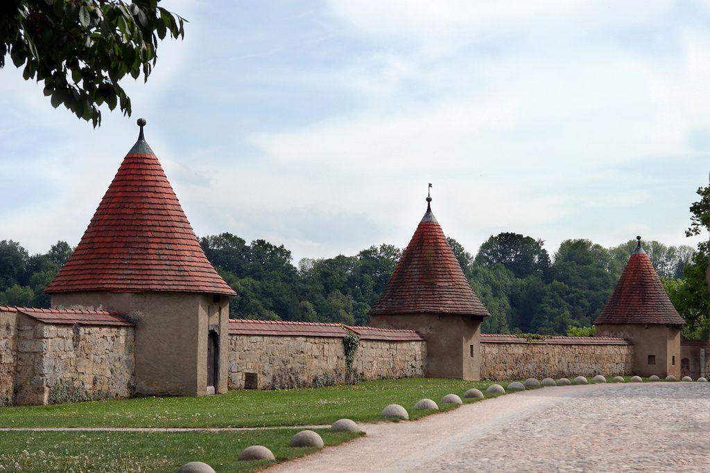 Burgplatz in Burghausen