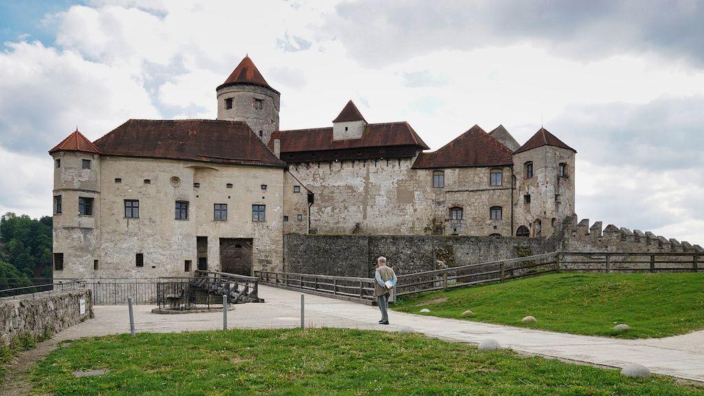 Hauptburg der weltlängsten Burg