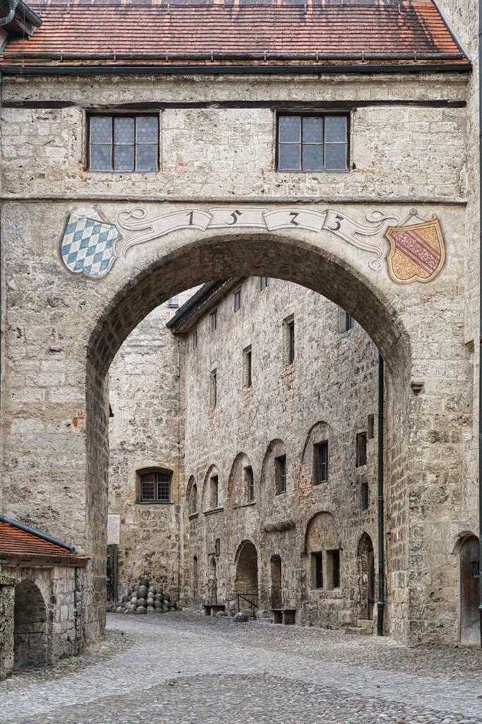 Die Burg von Burghausen fotografieren