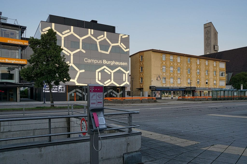 Campus in Burghausen fotografieren
