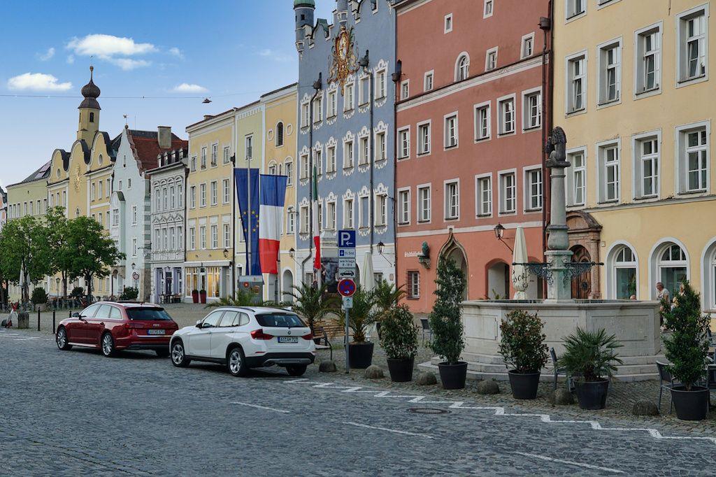 Stadtplatz in Burghausen