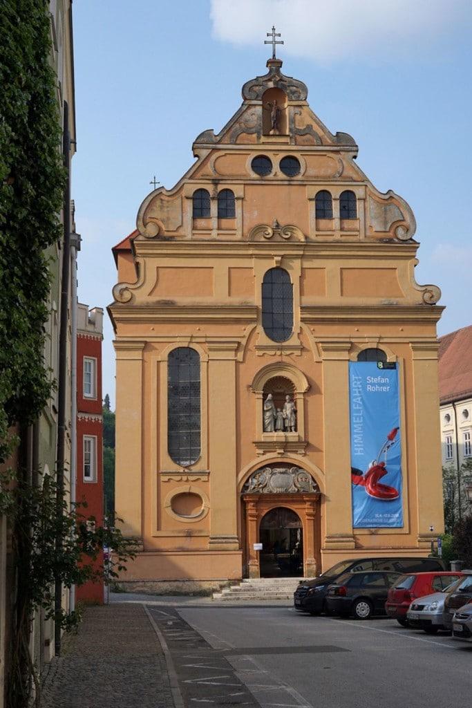 Kirchen in Burghausen fotografieren