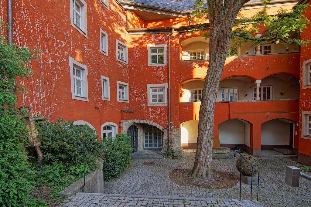 Das Mautnerschloss in Burghausen fotografieren
