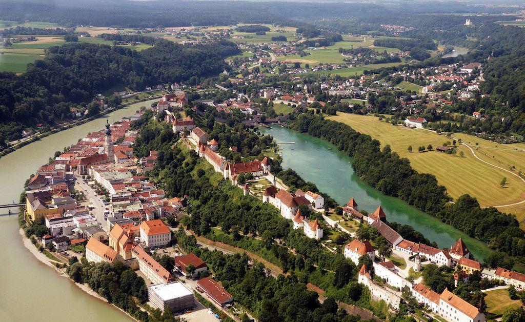 Altstadt und Burg von Burghausen fotografieren