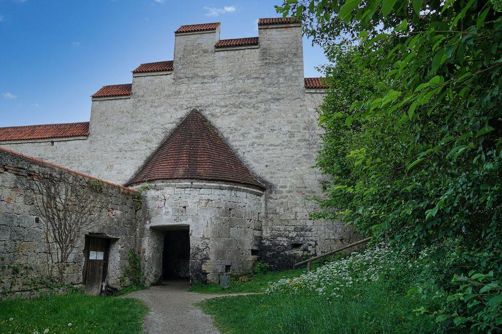 Festungstor in Burghausen