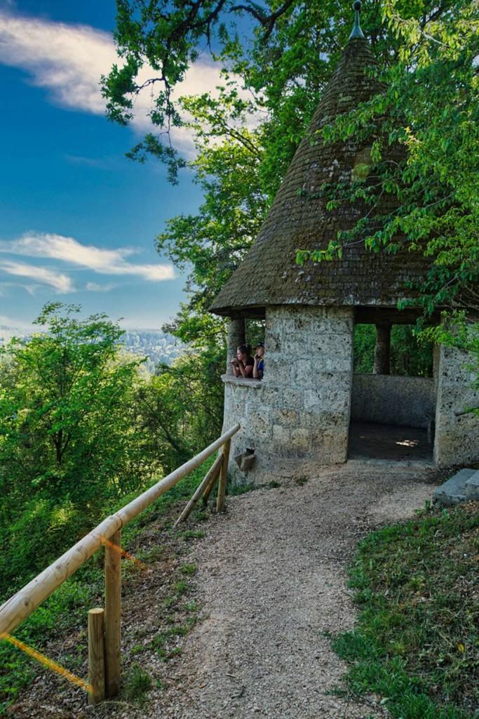 Aussichtspunkt in Burghausen