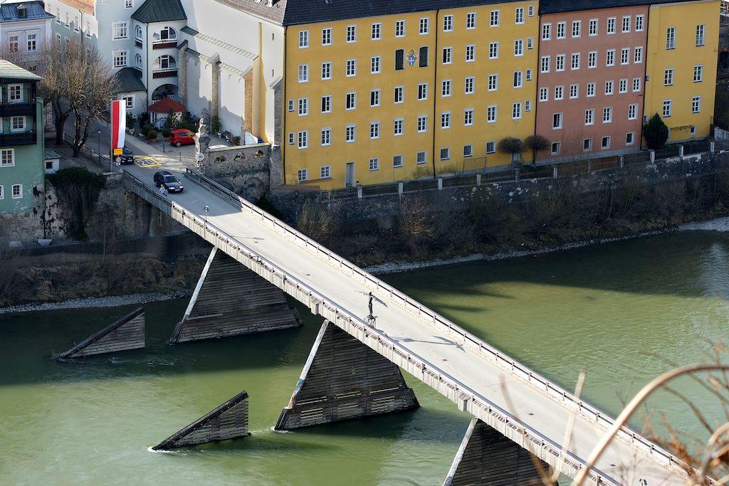Altstadtbrücke in Burghausen