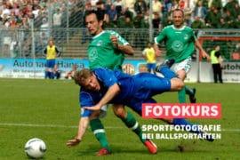 Online-Fotokurs Sportfotografie bei Ballsportarten