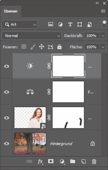 Verlustfreies Zurücksetzen vom Hauptmotiv in Bildbearbeitungssoftware