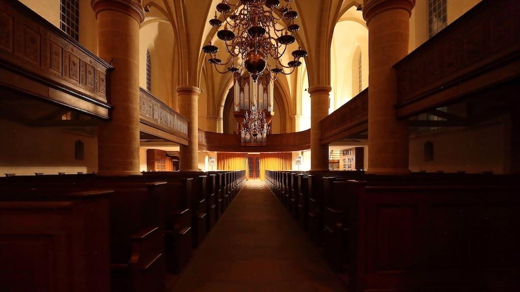 Innenansicht einer Kirche in Nordhorn