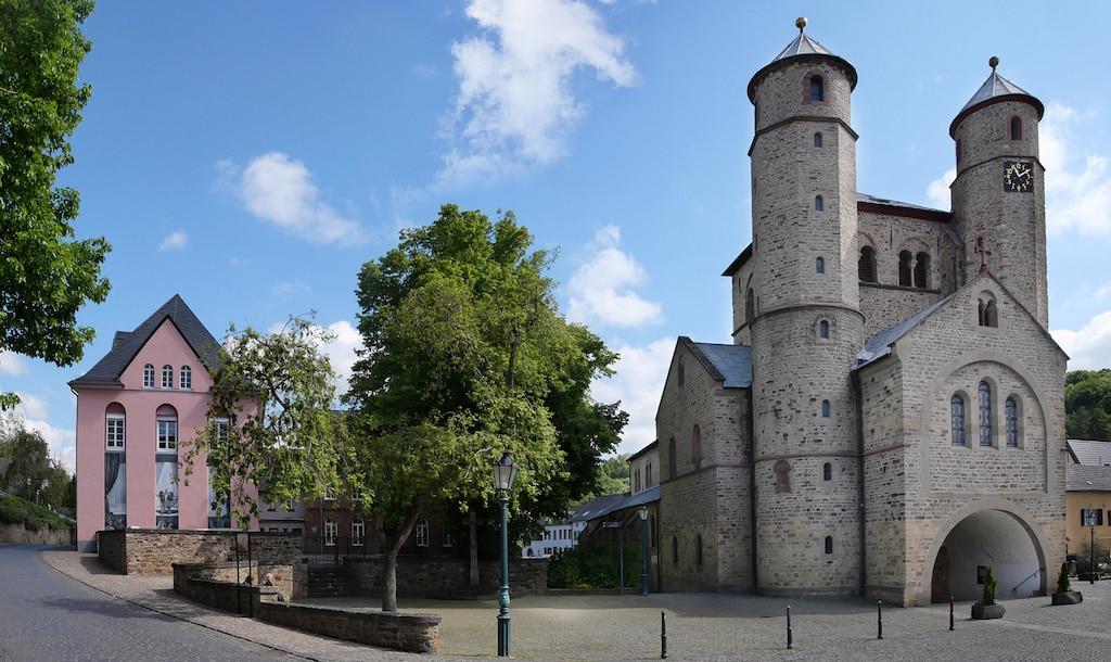 Historische Kirche in Bad Münstereifel
