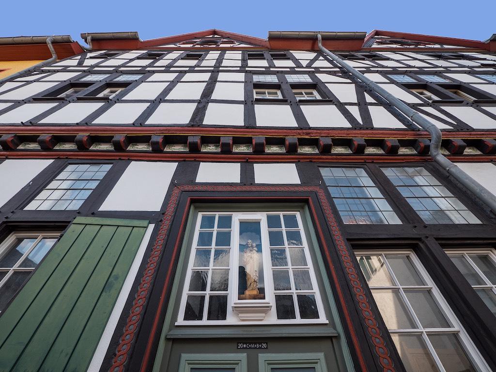 Fassade eines Fachwerkhauses