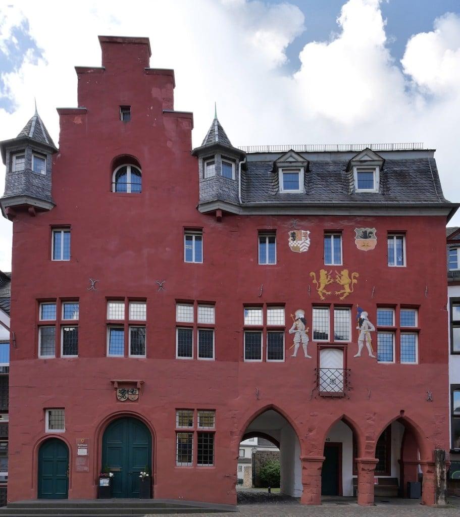 Das Rathaus von Bad Münstereifel