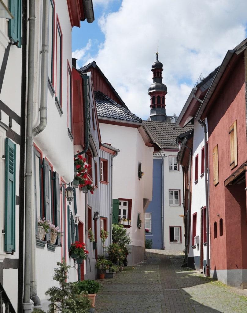 Seitenstraßen in Bad Münstereifel fotografieren