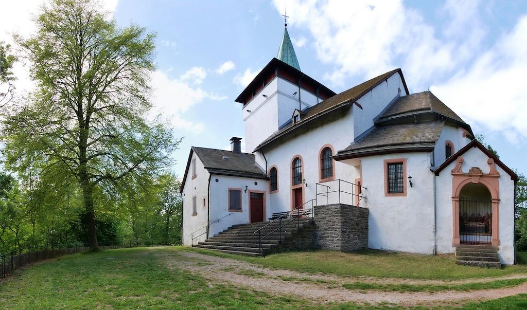 Die Michaelskapelle als Fotomotiv