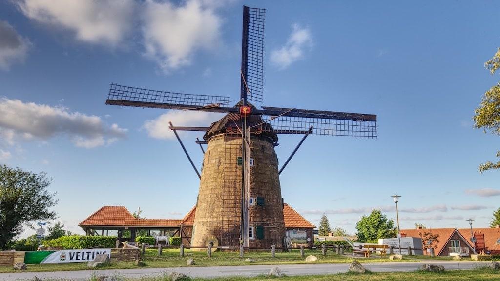Die Ostmühle in Gildehaus fotografieren