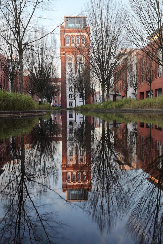 Architekturfotografie in Nordhorn: Der Povelturm